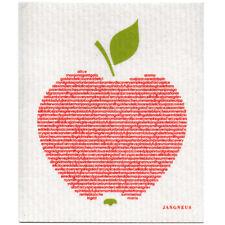 NEW Big Apple Red Design Eco Friendly Kitchen Dishcloth