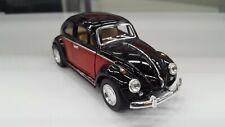 1967 Vw volkswagen Classical Beetle black kinsmart model car 1/32 scale diecast