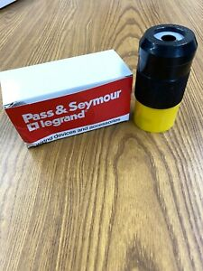 Pass & Seymour Turnlok Plug CS8365 MADE IN U.S.A. 50 amp 3PH 250V  3P 4W