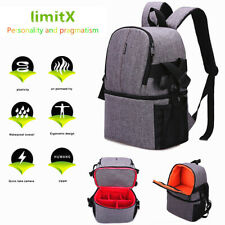 DSLR SLR Camera Case Backpack Photo Bag Shockproof Waterproof for Canon