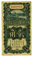 China  ... P-64a ... 20 Cents ... 1925 ... *F-VF*.