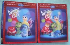 Disney INSIDE OUT or ZOOTOPIA,  Lenticular Blu ray slipcover