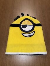 Universal Despicable Me Yellow MINION KIDS Knit Hat Beanie Skull Cap