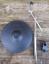 Roland CY-13R Electronic Cymbal with boom mount, clamp, rotation stopper, etc.