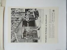 Original Print Ad 1943 BELL TELEPHONE SYSTEM Phone Guadalcanal photo