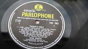 Deena Webster TUESDAY'S CHILD 1968 UK LP VERY RARE FOLK PARLOPHONE EX+ HEAR