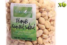 72oz Gourmet Style Bags of Premium Roasted Salted Virginian Peanuts [4 1/2 lbs.]