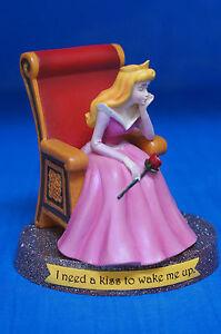 Sleeping Beauty Aurora I Need a Kiss to Wake Me Up Figurine 17869 Disney Retired