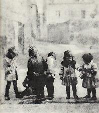"""Héliogravure - 1926 - """" Groupe d'amis """"  par Robertson"""