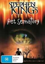 Horror M Rated DVDs & Pet Sematary Blu-ray Discs