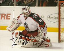 Detroit Red Wings Thomas McCollum Signed Autographed 8x10 COA