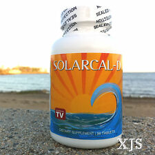 SolarCal-D Bob Barefoot 1500 Marine Coral Calcium 2000iu Vitamin D3 Supreme Best