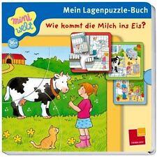 miniwelt: Mein Lagenpuzzle-Buch.Wie kommt die Milch ins Eis? 3 Puzzle+Bilderbuch