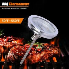 Steel Temperature Gauge Thermometer for Barbecue BBQ Grill Smoker Pit Thermostat