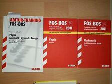 FOS BOS Prüfungsaufgaben mit Lösungen Mathematik und Physik