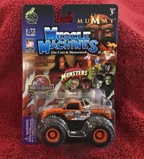 MUSCLE MACHINES The Mummy Scorpion King Monster Truck Mosc New 1:72 Mint Rare