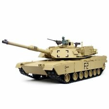 Heng Long 1/16 2.4GHz RC M1 Abram BB & IR Tank - New Pro 6.0S Edition 4x Sounds!