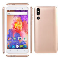"5"" Android 6.0 Unlocked Mobile Smart Phone Quad Core Dual SIM WiFi 3G GPS Eh"