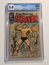 THE SUB-MARINER #1 CGC 5.0 (May 1968, Marvel) 1st SOLO PRINCE NAMOR VG/FN