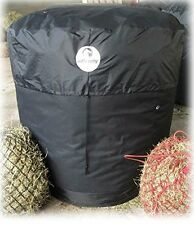 NEW VERSION !! DELUXE BALETIDY Bale Rain cover - Round Hay/Straw bales upto 5ft