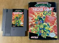 Teenage Mutant Ninja Turtles II Arcade (1989) - Nintendo Entertainment System