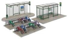 Walthers Cornerstone HO Scale Building/Structure Kit Modern Bus Shelter