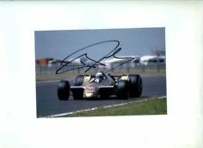 Riccardo Patrese Arrows A2 British Grand Prix 1979 Signed Photograph