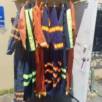 Men's Pre-Owned Coveralls Sizes Large (44) - 3XL (58), Variety of Name Brands!