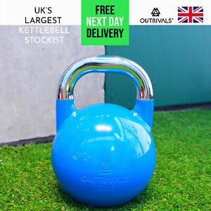 Kettlebell 12kg Competition Steel Heavy Duty Gym Fitness Strength Training