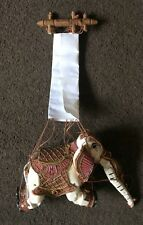 Traditional Burmese Elephant Puppet Marionette, Contemporary Style