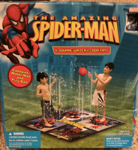 Marvel Spider-man Wild Water Floor Mat Outdoor Water Fun Play Ball New in Box