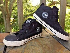 CONVERSE CHUCK TAYLOR Hi Top All Star Athletic Sneakers Boys Girls Shoes Sz 9