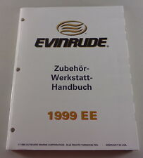 Manuel D'Atelier - Équipement Evinrude Hors Bord Bottes Support 1999