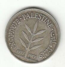 PALESTINE 100 MILS 1927 SILVER COIN