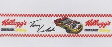 "Terry Labonte Winston Cup Racing Grosgrain Ribbon Trim 1 1/2"" Wide By The Yard"
