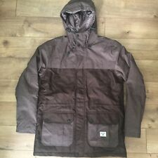 New Billabong Mens Insulated Parka Jacket size L