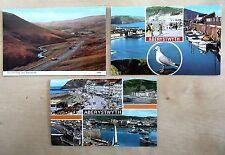 Aberystwyth Wales 3 Postkarten Postcard unused Lot ungelaufen ca./ab 70er Jahre
