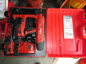 Hilti BX 3-A22  Battery Actuated Fastener Fastening Tool Kit 22V - USED (930)