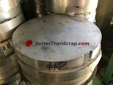 Aluminum 6061 round plate, 1.25