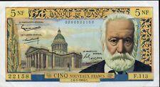 5 Francs Victor HUGO;émis le 6.5.1964;FAY 56/15,SUP+ .