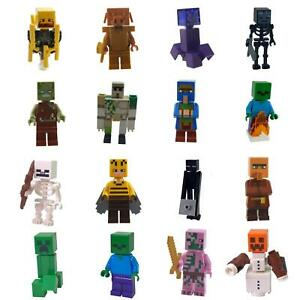 LEGO Minecraft Minifigures mobs and NPC characters