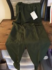 Original Bug Pants Green Microfibre Lightweight Pull-On Insect Protection NWT