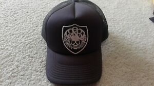 Rock Racing Cycling Black Team Issue Truckers Hat OS