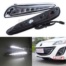 2 X LED Daytime Running Light For Mazda 3 Axela Car Fog Lamp 2010 2011 2012 2013