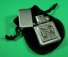Celtic Pattern Petrol Lighter FREE UK POST Scotland Ireland Wales
