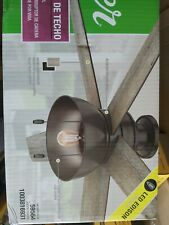 Hunter Ceiling Fan Light Kit 52 Inch LED Indoor Outdoor Bronze Rustic Farmhouse