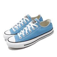 Converse Chuck Taylor All Star OX Blue White Black Men Women Unisex Shoe 166709C