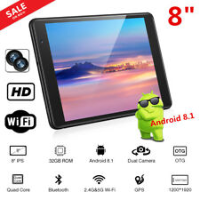 CHUWI Hi8 SE 8 inch Tablet PC Android 8.1 2+32GB Quad core Wi-Fi 2*Camera Black