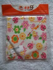 BNIP Baby Girl's Ladybugs Cotton Knit Bandana Bib