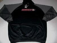 Cincinnati Bengals Synthetic Hoodie 2XL Black Vibrant Team Colors Majestic NFL